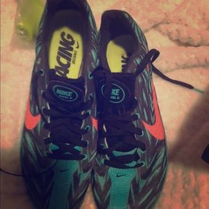 Nike rival D distance track and field spikes